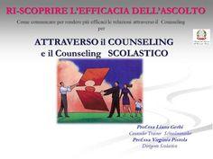 FORMAZIONE INSEGNANTI      Counseling Scolastico A.I.C.I schoolcounseling:    FORMAZIONE INSEGNANTI FORMARSI per NON FERMARS...