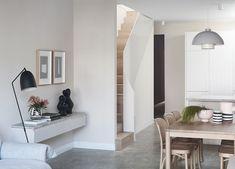 At Home with Designer Cushla McFadden Dormer Windows, Windows And Doors, Ceiling Windows, Sydney, Steel Balustrade, Mark Henry, Interior Architecture, Interior Design, Bentwood Chairs