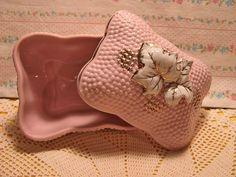 Paris Pink trinket box by misseskwittys, via Flickr