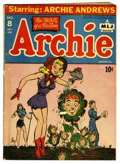Golden Age (1938-1955):Humor, Archie Comics #8 (Archie, 1944) Condition: GD/VG....