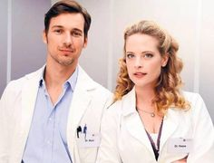 Dr. Marc Meier (Florian David Fitz) & Gretchen Haase (Diana Amft) love this couple so much <3 #Lieblingsserie #GUTELAUNE #DD