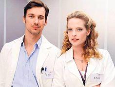 Dr. Marc Meier (Florian David Fitz) & Gretchen Haase (Diana Amft) love this couple so much <3 #Lieblingsserie #GUTELAUNE #DD