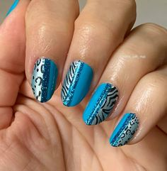 Nail Polish Strips, Color Street Nails, Coming Out, Blue, Beauty, Instagram, Happy, Going Out, Ser Feliz