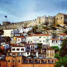 Kavala City - Old Town #kavalacity #oldbuildings #Greece #imaret