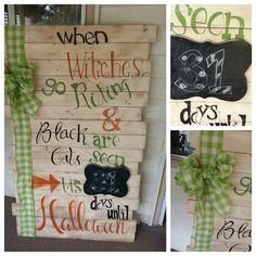 Countdown To (halloween, Ideas, Inspiration, Decor, Decoration, Home, House
