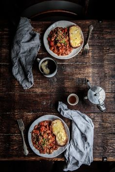 Rich and fragrant homemade beans topped with a buttery smoked bacon crumb, the perfect way to start any weekend! Anisa Sabet | The Macadames | Food Styling | Food Photography | Props | Moody | Food Blogger | Recipes