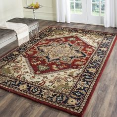 http://www.overstock.com/Home-Garden/Ecarpetgallery-Hand-knotted-Serapi-Heritage-Blue-Brown-Wool-Rug-811-x-1111/11484408/product.html?refccid=N54NKTEECHD3WHKLE7QNFQ2INE&searchidx=27 (aff link)