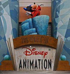 Hollywood Studios -- The Magic of Disney Animation