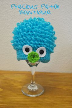 Curly haired monster beanie Diaper Covers, Beanies, Yoshi, Kid Stuff, Curly Hair Styles, Crochet, Hats, Fictional Characters, Beanie Hats