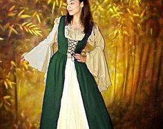 Renaissance Medieval Costume Mythic Chemise by ReminisceShoppe