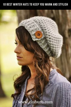 e1eaf8424d3 Let s welcome winter in style with these 10 cute winter hats! Winter Hats  for Women