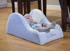 A new baby bed you can bring anywhere (great for reflux too).