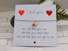 Valentines Gift- Wife Gift - Girlfriend Valentines Gift - Wife to Wife - Lesbian Gift - Romantic Gift - Wife Birthday - Valentines Jewellery by KHLJewellery on Etsy Valentine Gifts For Girlfriend, Diy Gifts For Boyfriend, Gifts For Wife, Valentines Jewelry, Valentines Diy, Anime Cherry Blossom, Lesbian Gifts, Birthday Gift For Wife, Romantic