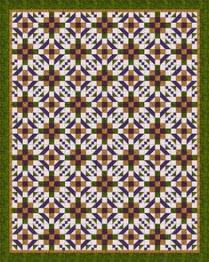A Walk Through the Maze Quilt Pattern - Janet Wickell - About com. quilting guide
