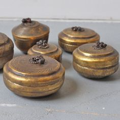 theiainteriordesign:  Brass Chapati from India Vintage Indian brass chapati bowls, perfect for jewellery and other nick-nacks.
