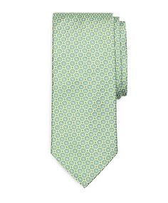 Connected Circle Flower Tie - Brooks Brothers