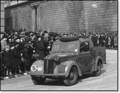 Austin 10hp Tilly taking part in the London victory parade in 1946