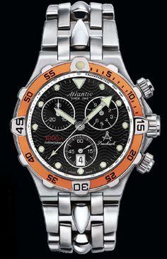 WatchMann.com: Atlantic Swiss Watches