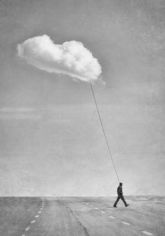 Clouds created by human mindset Surrealism Photography, Conceptual Photography, Fine Art Photography, Photomontage, Surreal Art, Ciel, Photo Manipulation, Belle Photo, Dark Art