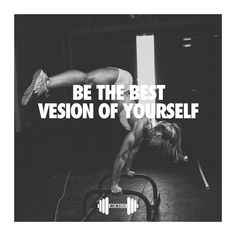 BE THE BEST VESION OF YOURSELF #gymtime #gymmotivation #gymquotes #fitness