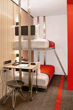 Reise/Travelling: Design-Hostels: Basel