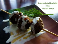 Lamb & Feta Meatball