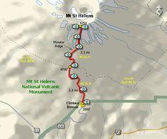 Mt St Helens Climb Hike