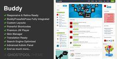 Buddy: Multi-purpose WordPress & BuddyPress Theme - http://blackhatvip.com/buddy-multi-purpose-wordpress-buddypress-theme/