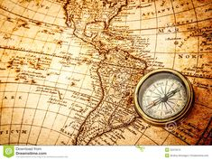 Vintage compass lies on an ancient world map. - Buy this stock photo and explore similar images at Adobe Stock Vintage Compass, Vintage Maps, Antique Maps, Top Mother's Day Gifts, Map Tattoos, Old World Maps, Thoughts And Feelings, Mother Day Gifts, Lgbt