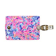 Lilly Pulitzer Girls Luggage Tag, Coco Coral Crab, 0 M US Infant: Jet, set, go! claim your carry-on with these brightly patterned and gold-accented luggage tags. Girls Luggage, Luggage Accessories, Hippie Boho, Lilly Pulitzer, Coral, Tags, Pattern, Fun, Jet Set