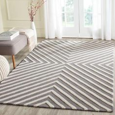 Safavieh Cambridge Dark Grey/Ivory 8 ft. x 10 ft. Area Rug - CAM129X-8 - The Home Depot