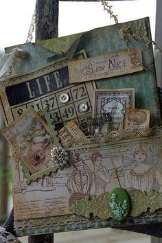Blessed and Distressed: Altered Art