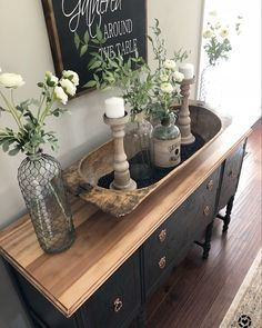 Complete our survey bought country home decor diy Diy Home Decor Rustic, Country Farmhouse Decor, Farmhouse Style, Farmhouse Buffet, Kitchen Buffet, Vintage Farmhouse, French Rustic Decor, Rustic Style, Decorating Coffee Tables