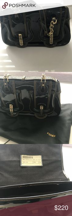 4e4d96b5e48c Fendi black purse with dusty bag Fendi black purse with dusty bag Fendi Bags  Hobos Black