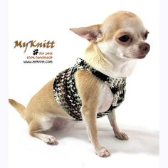 Dog Harnesses DH10 by Myknitt #handmade #dog #pet #cat #harness #crochet #diy #fashion #dogboutique #cute #funny #spring #dogwalker #pupppy #customizable