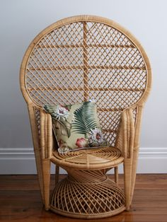 Natural Moon Chair I thatchandhutchconz I Home Decor I Rattan