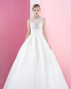 Papel from Jesus Piero wedding dresses 2016 | see the rest of the collection on www.onefabday.com