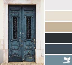 A Door Hues via @designseeds