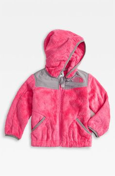The North Face 'Oso' Hooded Fleece Jacket (Infant) available at #Nordstrom