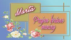 Marta  Prajem krásne meniny