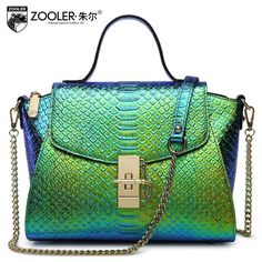 5a84dd2344db Cow leather handbag free delivery 2016 The new leather snake chain package  handbag Shoulder Messenger Bag