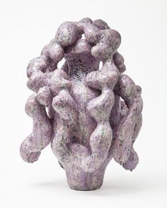 Morten Løbner Espersen, 'Pale Purple Horror,' Jason Jacques Inc. Contemporary Artwork, Contemporary Artists, Horror, Pastel Art, Art Studios, Pottery Art, Ceramic Art, Sculpture Art, Stoneware
