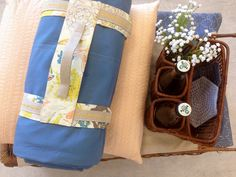 Hello Everyone!Today at the AGF Headquarters we are dreaming of picnics at the park and sitting underneath a tree with our favorite quilt reading a good book. Which made me think up a great tutorial for you all! A picnic blanket carrier made with Tapestry fabric and The Denim Studio Linen mixed with Bernina'sbeautiful decorative More…
