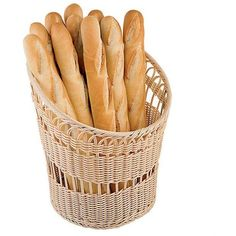 Paderno World Cuisine Round Bread Basket ($116) ❤ liked on Polyvore featuring home, kitchen & dining, serveware, food, fillers, food and drink, food & drinks, backgrounds, bread basket and wooden basket