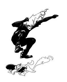 ghost raider skating