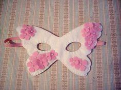 felt butterfly mask