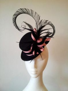 Mini Topper by JOHANNA GUERIN #HatAcademy #millinery