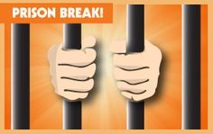 Time to break out of prison and get some exercise. Indoor Group Games, Large Group Games, Pe Lessons, School Lessons, Physical Education Curriculum, Elementary Pe, Playground Games, Indoor Recess, Gym Games
