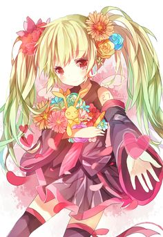 AGH WHICH VOCALOID IS THIS!!!!!! Cause to me it looks like Miku were Teri's clothes and with a new arm number
