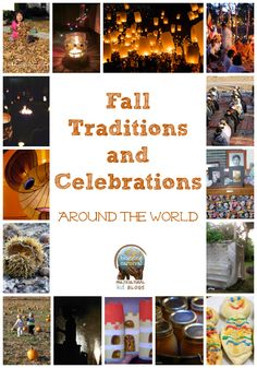 Fall Traditions and Celebrations Around the World shared for the Multicultural Kid. While many schools shy away from celebrating the typical holidays, I think showing children what other cultures do around the same time as our holidays is neat! Holidays Around The World, Around The Worlds, Holiday Crafts, Holiday Fun, Holiday Break, Multicultural Activities, World Geography, Teaching Geography, World Festival